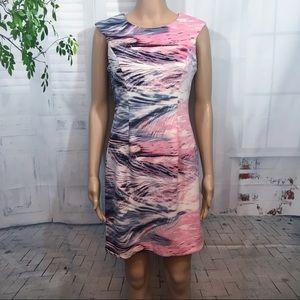 Gorgeous Pink/White/Black Dress